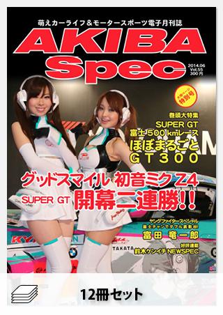 AKIBA Spec 2014年セット[全12冊]
