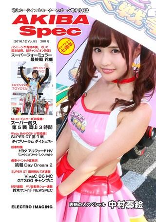Vol.85 2016年12月号