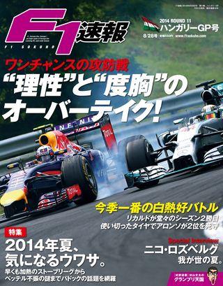 F1速報2014 Rd11 ハンガリーGP号